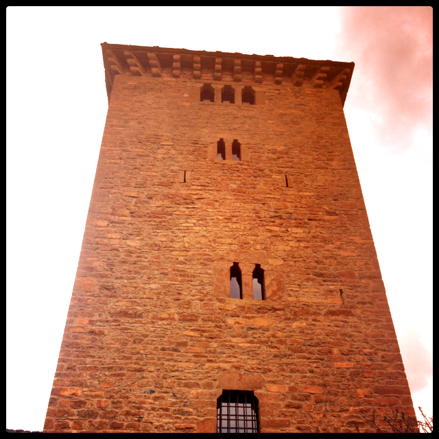 The medieval tower in Aragon that inspired The Girl From Oto